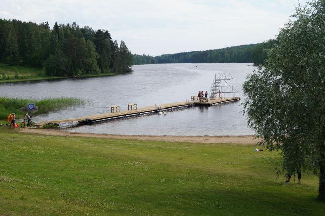 Rautalammin Kunta, Pitkänlahden uimaranta.jpg